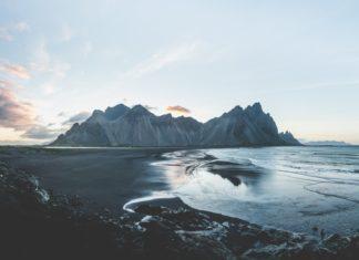 Malowniczy widok krajobrazu islandii