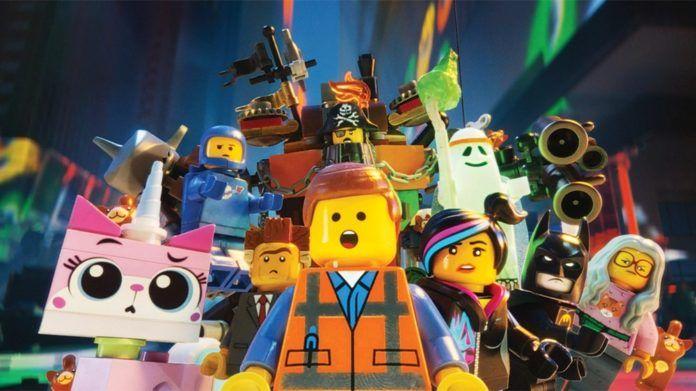 Bohaterowie z filmu LEGO