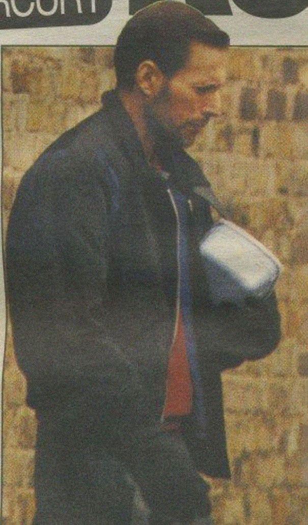 Freddie Mercury przed śmiercią - zdjęcie na spacerze