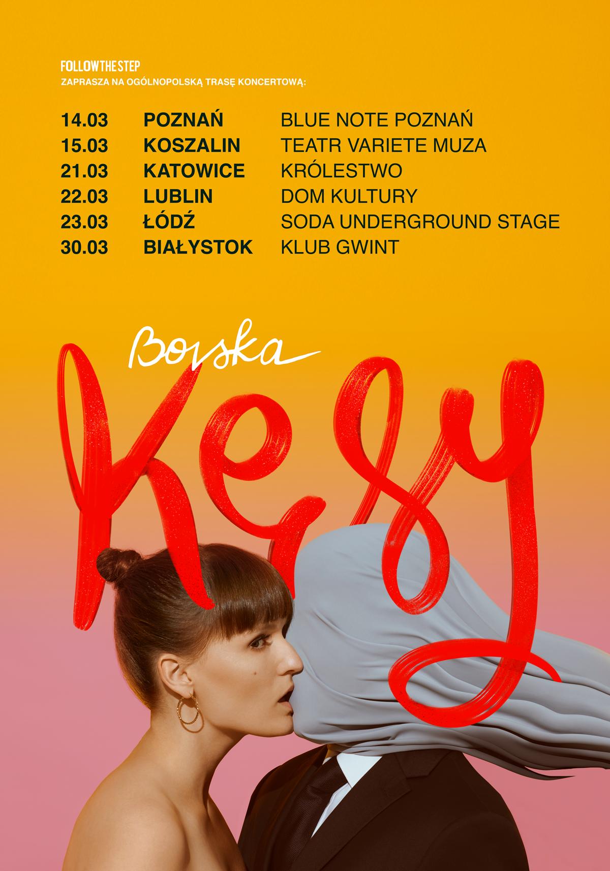 Plakat promujący trasę Bovskej