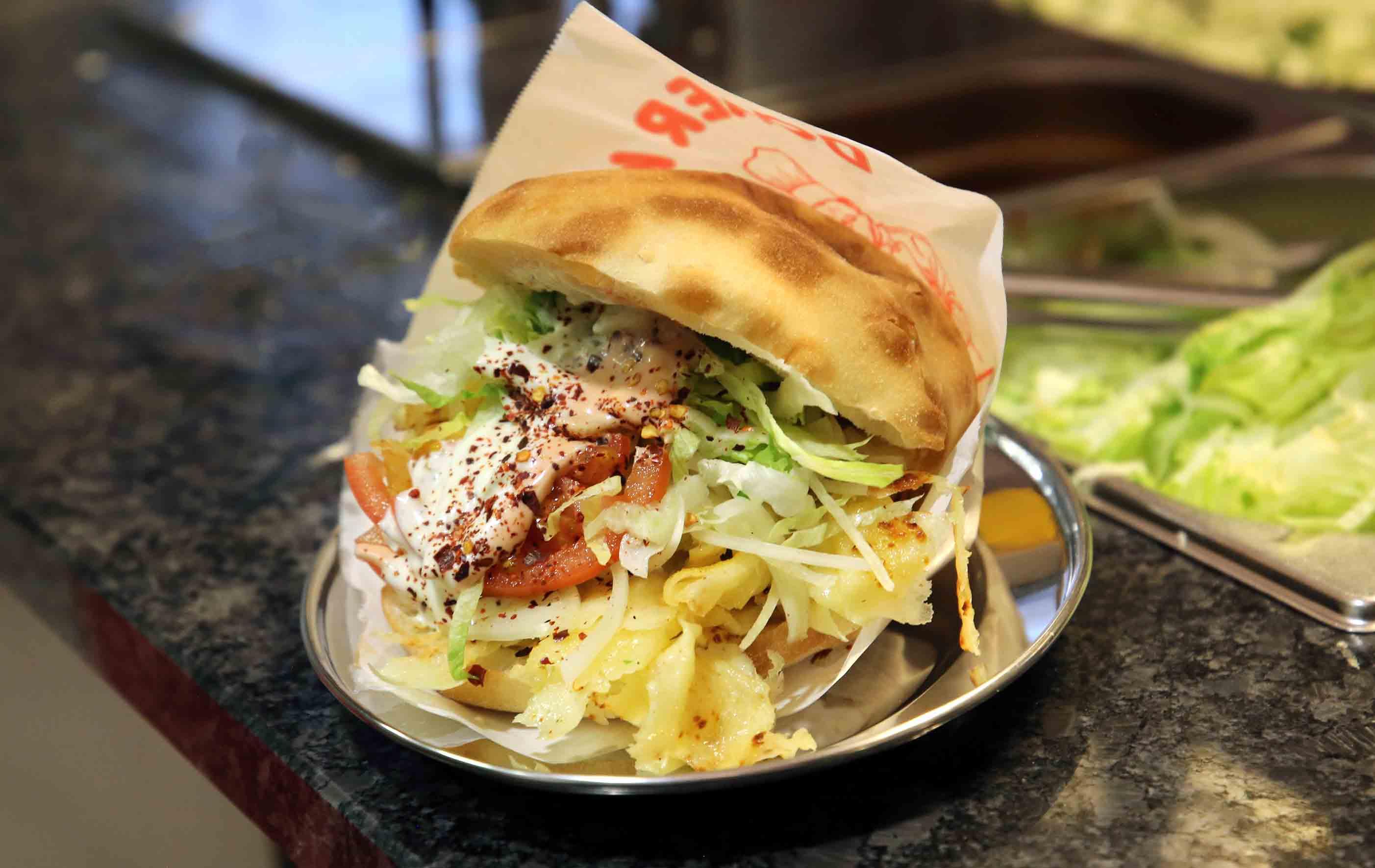 Kebab z serem