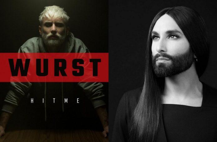 Mężczyzna z siwą brodą i kobieta z brodą
