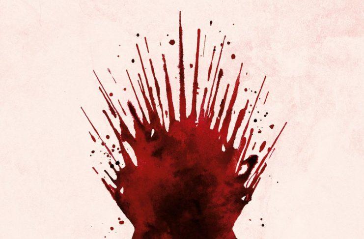 Fragment plakatu akcji HBO Bleed for the throne