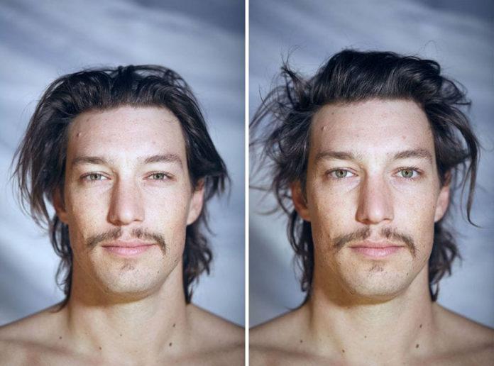 Dwa portrety tego samego mężczyzny