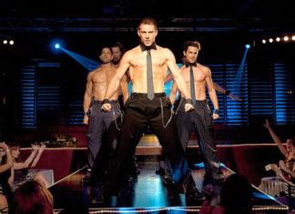Channing Tatum i inni aktorzy jako striptizerzy
