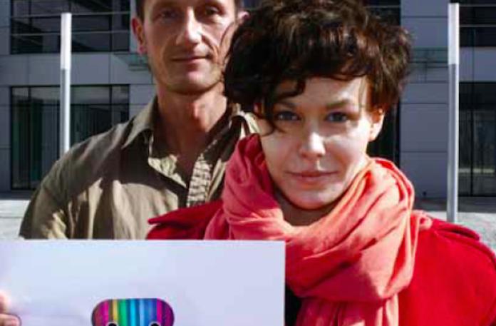 Jacek Izrailewski i Ania Łoskiewicz.