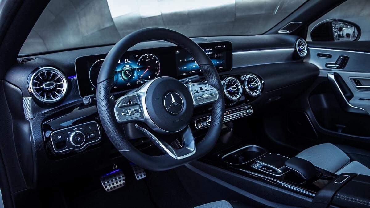 Wnętrze Mercedesa klasy A