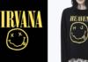 Logotyp Nirvany i koszulka MJ