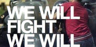 we will fight we will kiss sieciowa partyzantka, bójka w tle