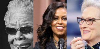 Portrety trzech kobiet obok siebie