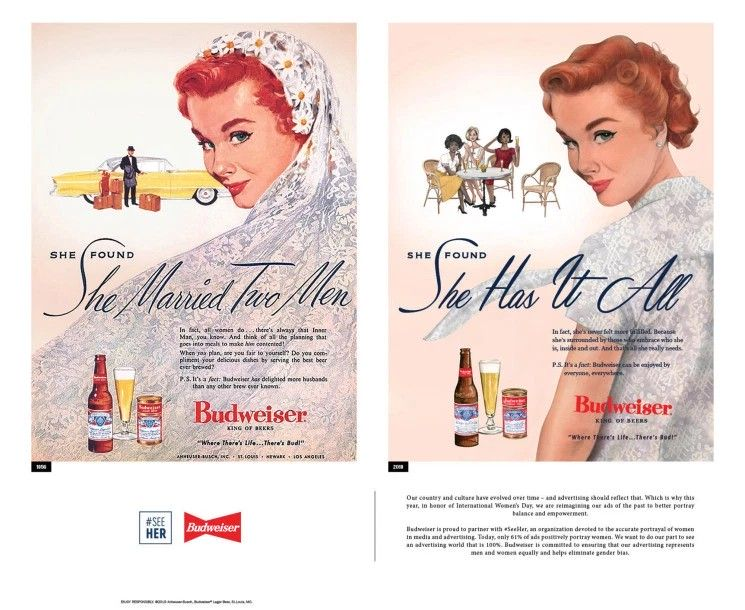 Vintage reklama piwa