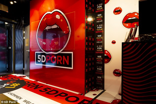 Wnętrze kina 5D Porn