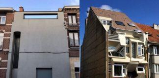 Dwa dziwne budynku w Belgii