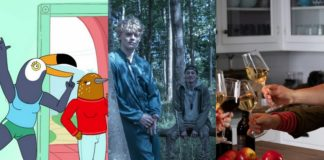 Trzy zdjęcia promujące nowe seriale Netflix
