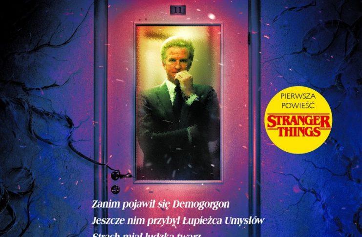 Okładka powieści Stranger Things