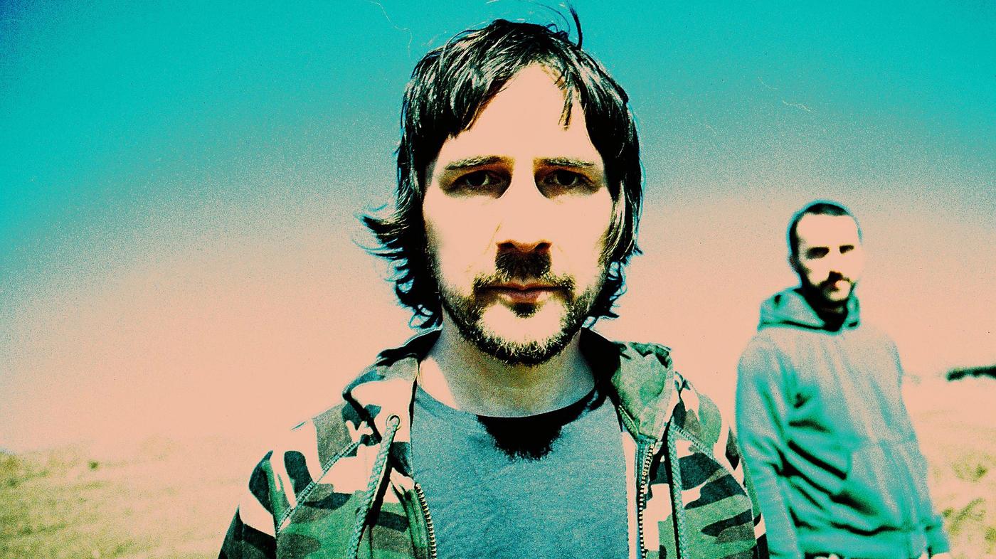 Portret dwoch mezczyzn w kolorach