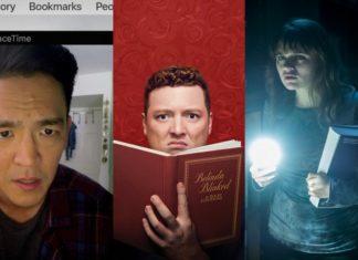 Trzy zrzuty ekranu z serialów HBO