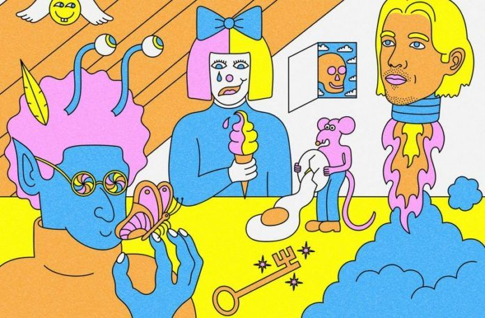 Okładka płyty LSD