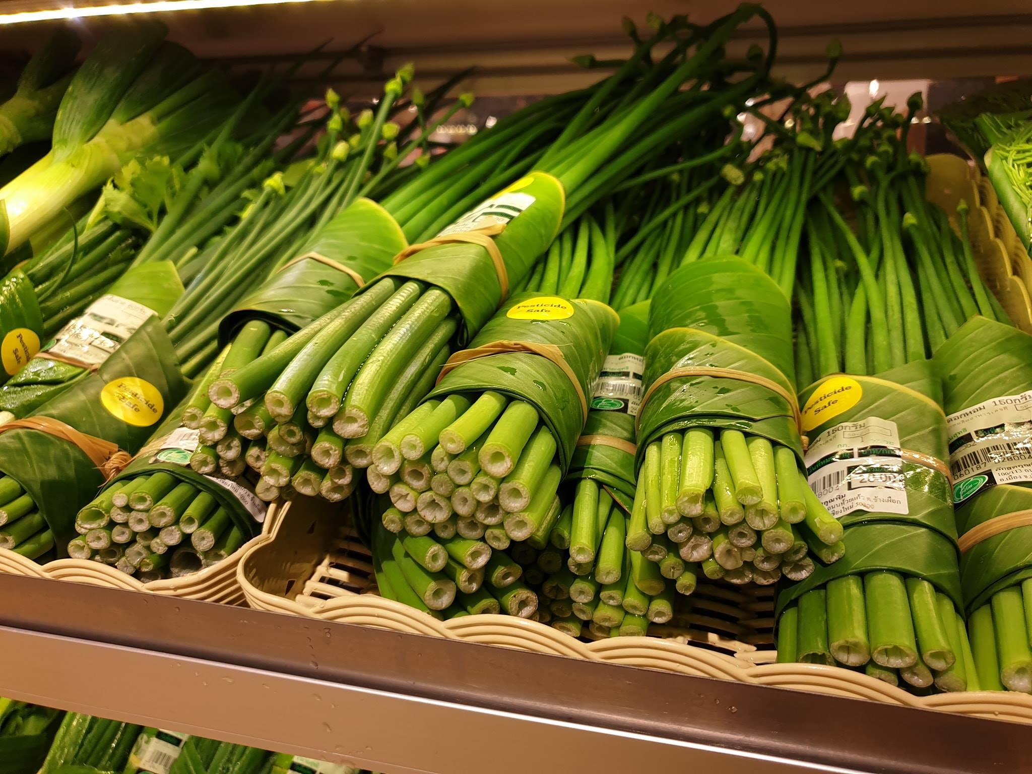 Warzywa zawinięte w liście bananowca