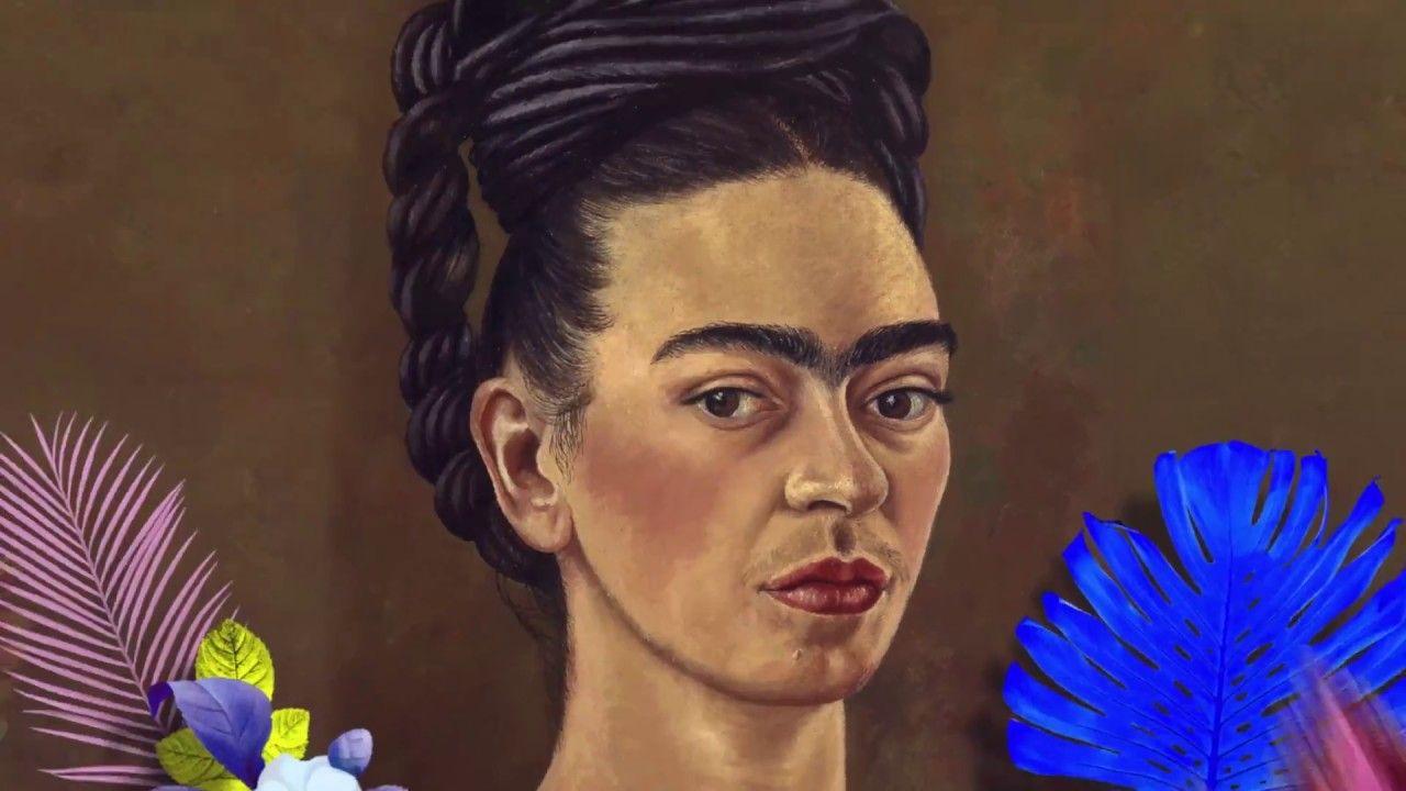 Portret kobiety z monobrwią