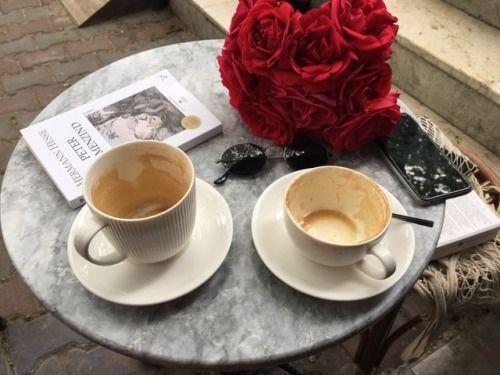 Dwie filiżanki kawy