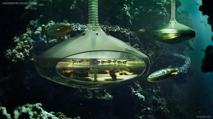 Podwodny dom