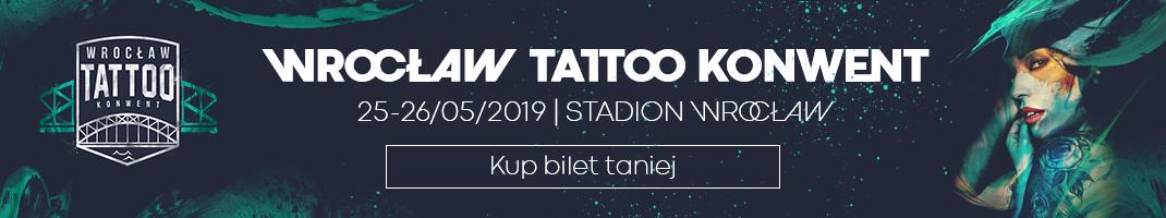 Baner Tattoo Konwent Wrocław
