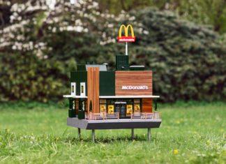 Najmniejszy budynek McDonald's
