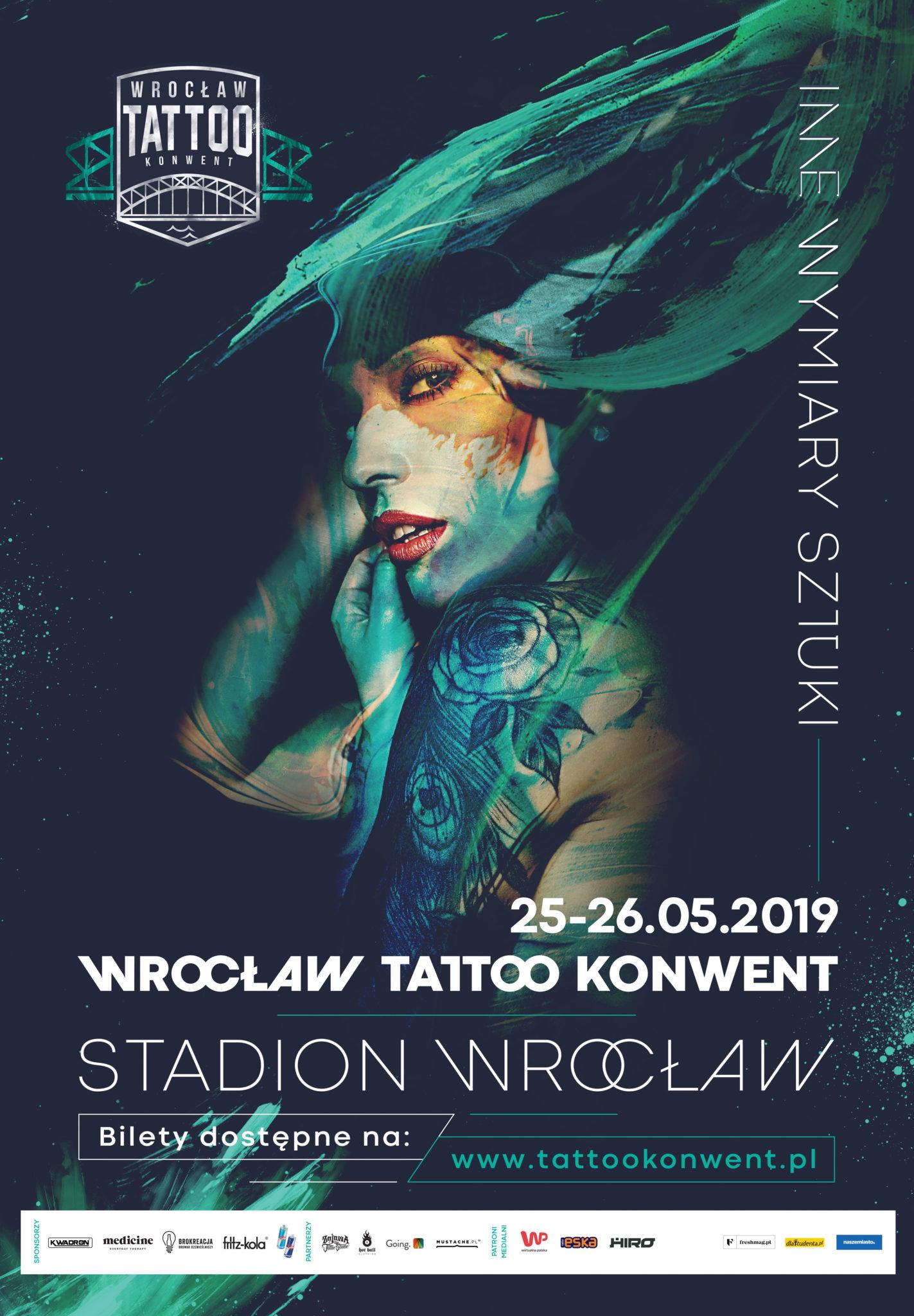 Plakat Wrocław Tattoo Konwent