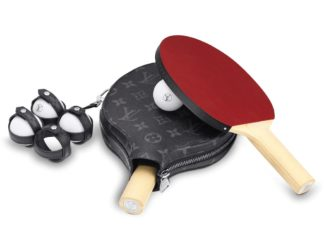 Zestaw do gry w tenisa od Louis Vuitton