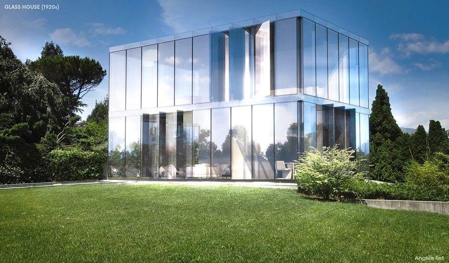 Dom ze szkła