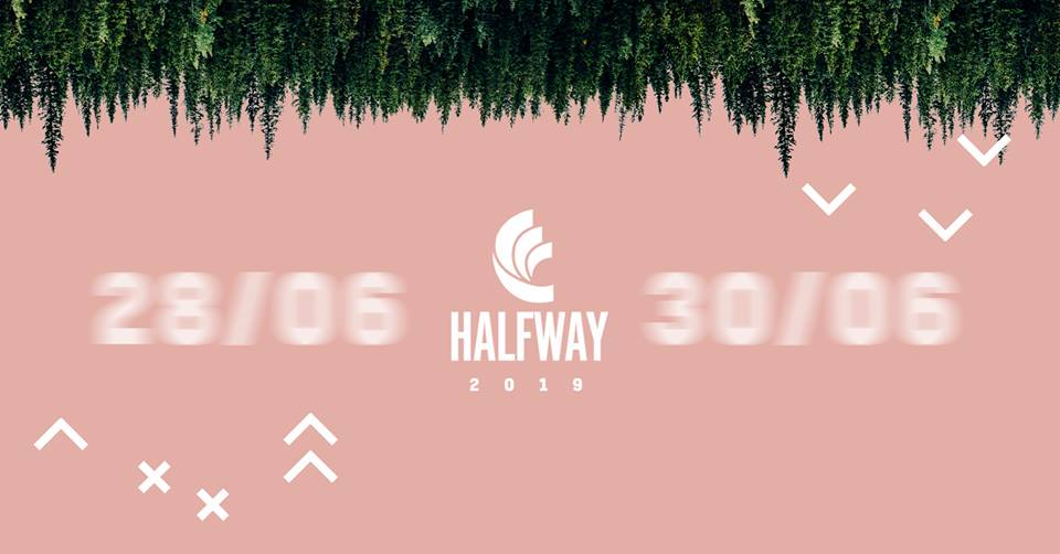 Plakat promujący Halfway Festival 2019