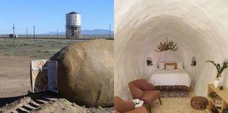 Dom, który wygląda jak ziemniak i jego wnętrze