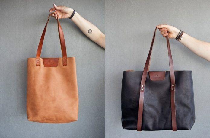 Dwie ręcznie robione torby