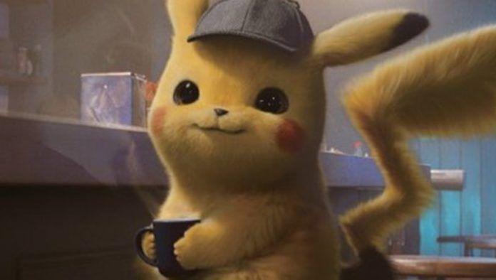Zrzut ekranu z filmu Detektyw Pikachu z żółtym stworkiem