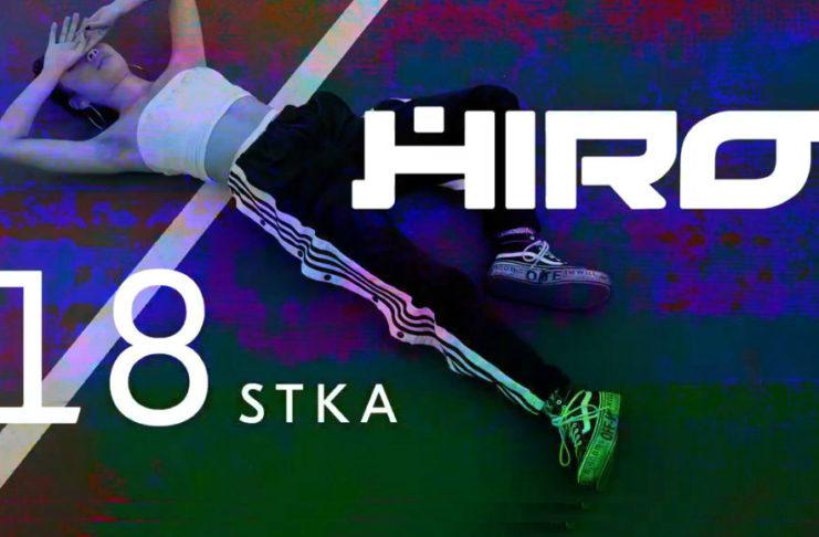 Plakat 18 urodzin HIRO w Iskrze