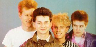 Czterech chłopaków - zdjęcie z lat 70