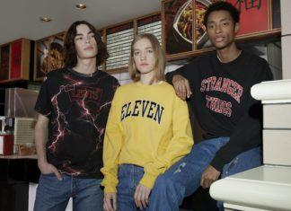 Dwóch chłopaków i dziewczya w ubraniach w stylu vintage