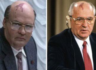 Dwa zdjęcia przedstawiające tego samego mężczyznę