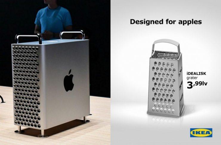 Nowy komputer Apple i tarka