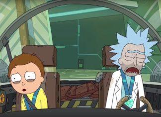 Dwie postacie z kreskówki