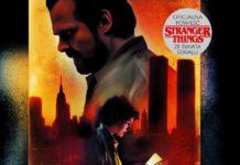 Okładka książki Stranger Thiings. Ciemność nad miastem