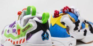 Buty wyglądające jak bohaterowie Toy Story