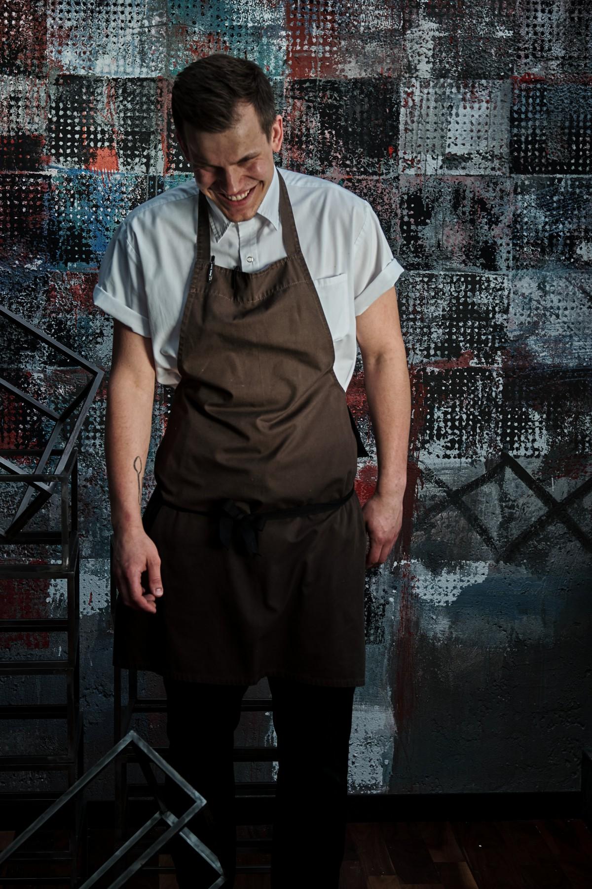 Mężczyzna w stroju kucharza