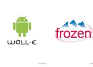 Dwa przerobione logotypy marek