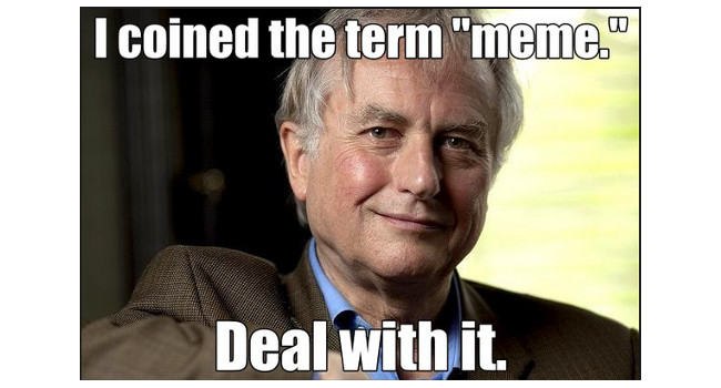 Meme z siwym mężczyzną