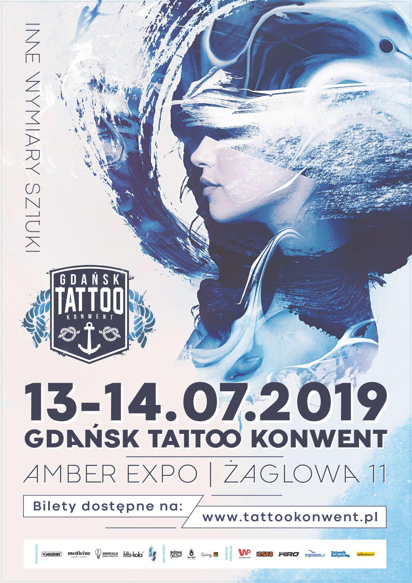 Plakat Tattoo Konwent
