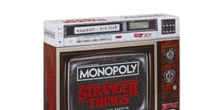 Opakowanie z grą Stranger Things