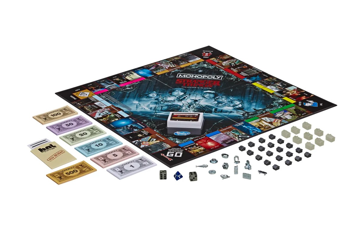 Plansza gry Monopoly Stranger Things