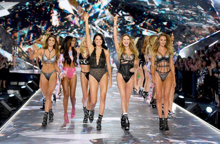 Modelki na wybiegu
